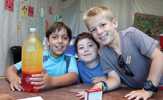 Summer Camps at  the JCC