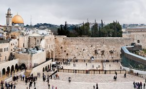 Western Wall and Temple Mount in Jerusalem, Israel