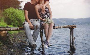 Romance by the lake